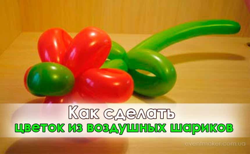 Как из шариков сделать цветок из круглых шариков своими руками фото 104