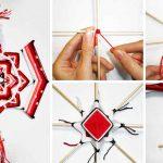 Плетение мандалы схема