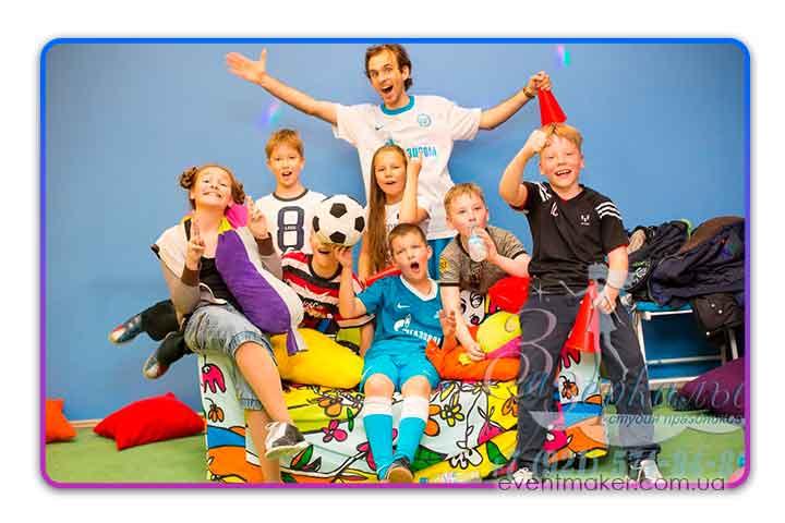 Футбольная вечеринка для детей