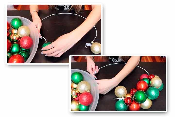 №3 Как сделать новогодний венок