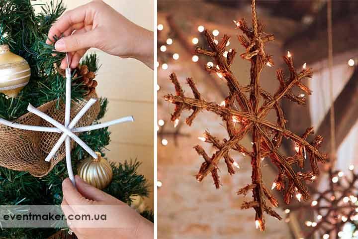 Как украсить елку самодельными украшениями