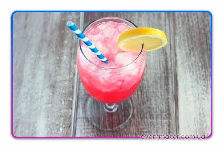 розовый лимонад рецепт