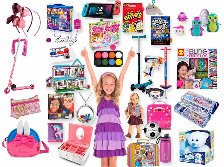Что подарить девочке 7-8 лет