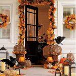 Как украсить дом на Хэллоуин