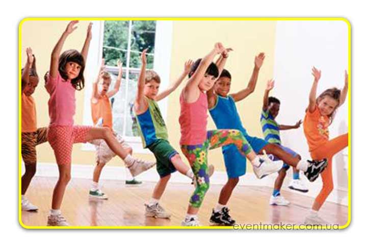 танцевальные игры для детей на праздник