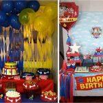 День рождения в стиле Щенячий Патруль